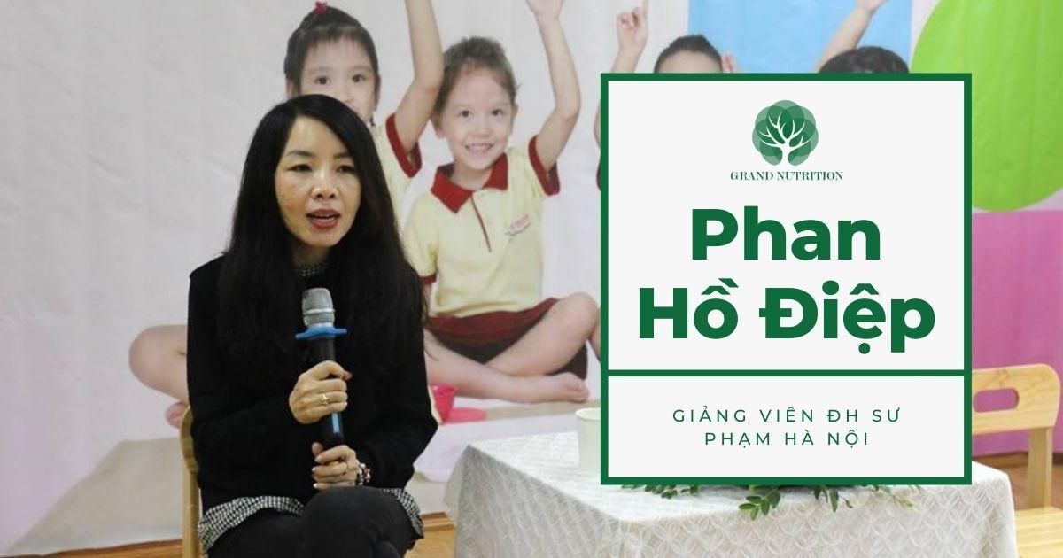 Chuyên gia Phan Hồ Điệp: Chế độ dinh dưỡng não bộ đúng cách và chuyên sâu cho con