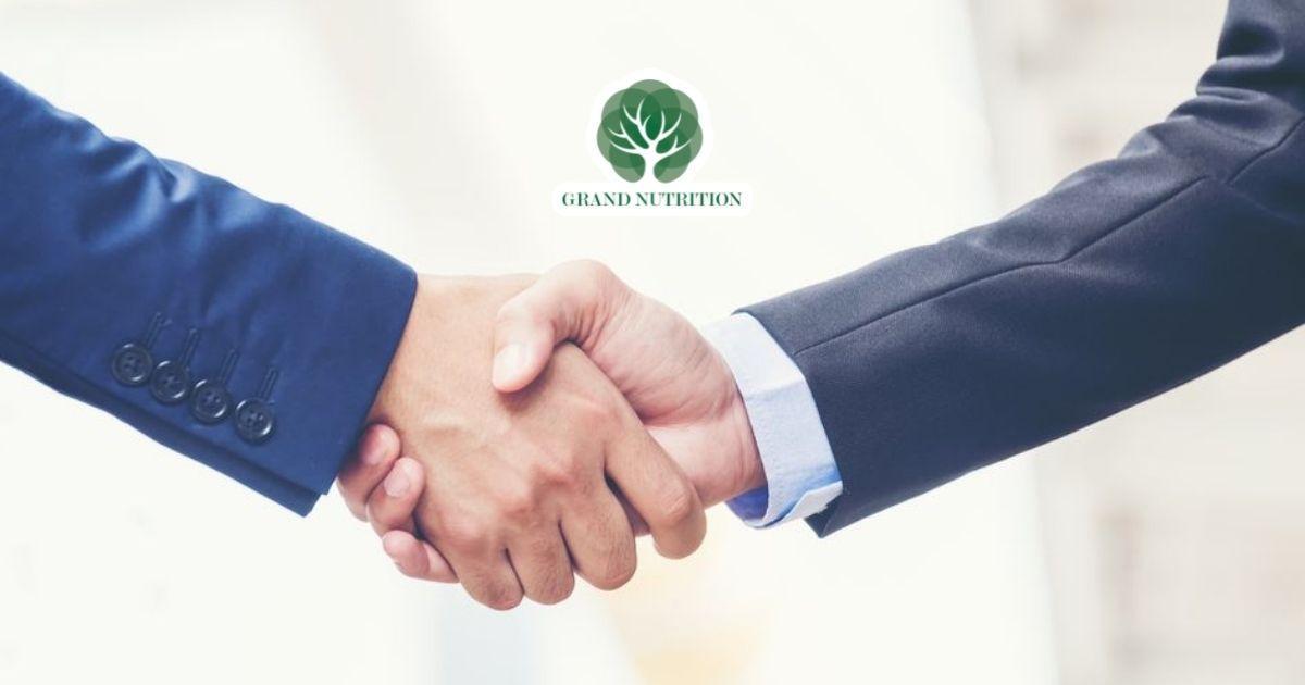 Grand Nutrition - Đồng hành cùng bạn trên con đường kinh doanh