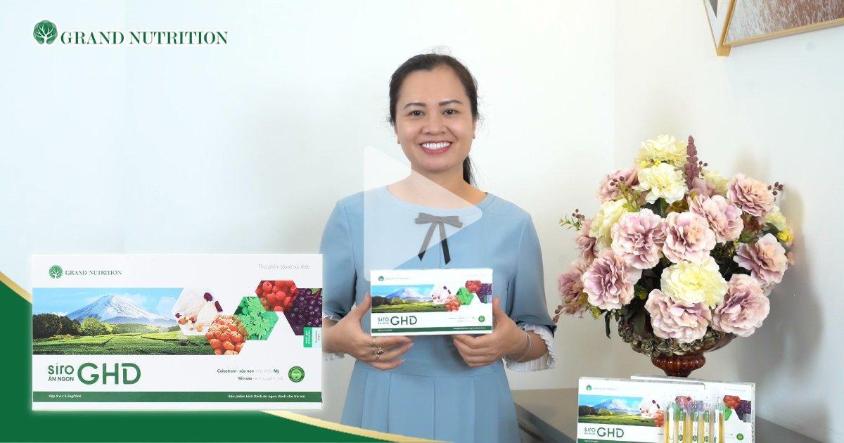 Chị Mai Thị Lan (31 tuổi, Ninh Bình) – Mẹ bé Bảo – Sử dụng GHD cho con được 5 tháng