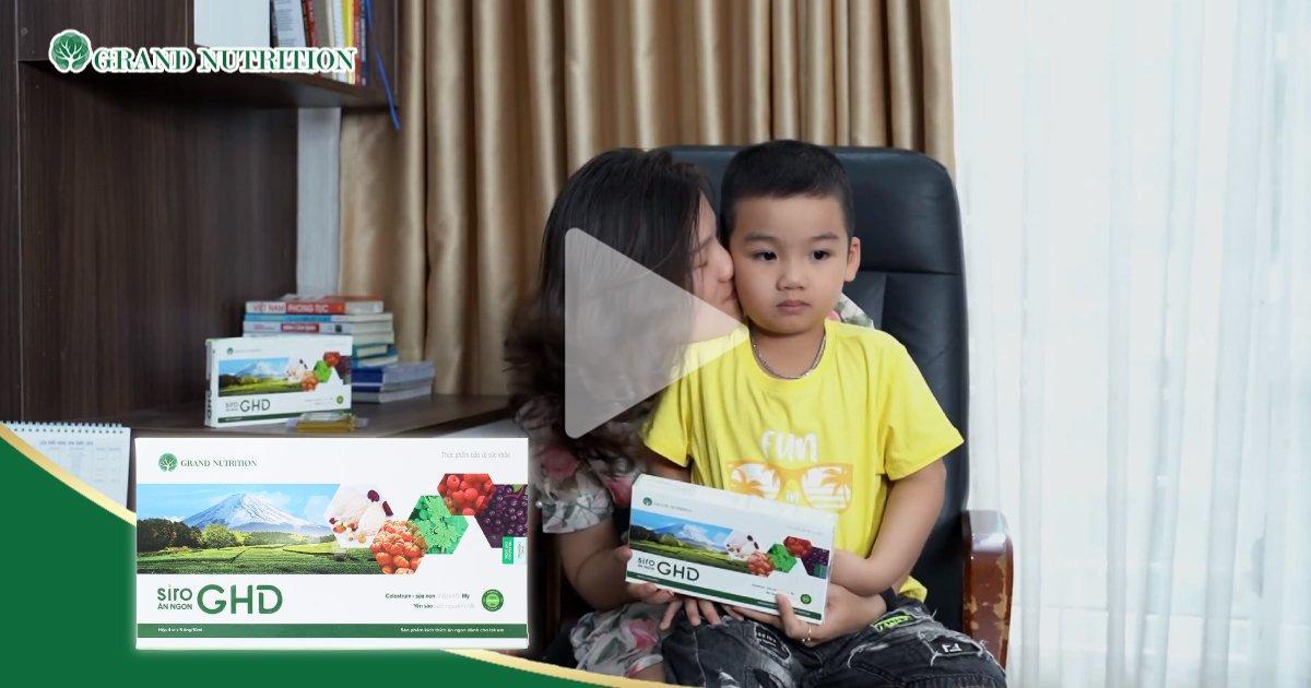 Chị Nguyễn Huệ (Hoàng Mai, Hà Nội) – Mẹ bé Sò – Đã sử dụng GHD hơn 2 tháng