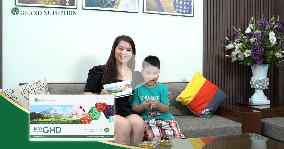 Chị Vỹ Nga (Mê Linh, Hà Nội) - Đã dùng GHD cho bé yêu gần 1 năm