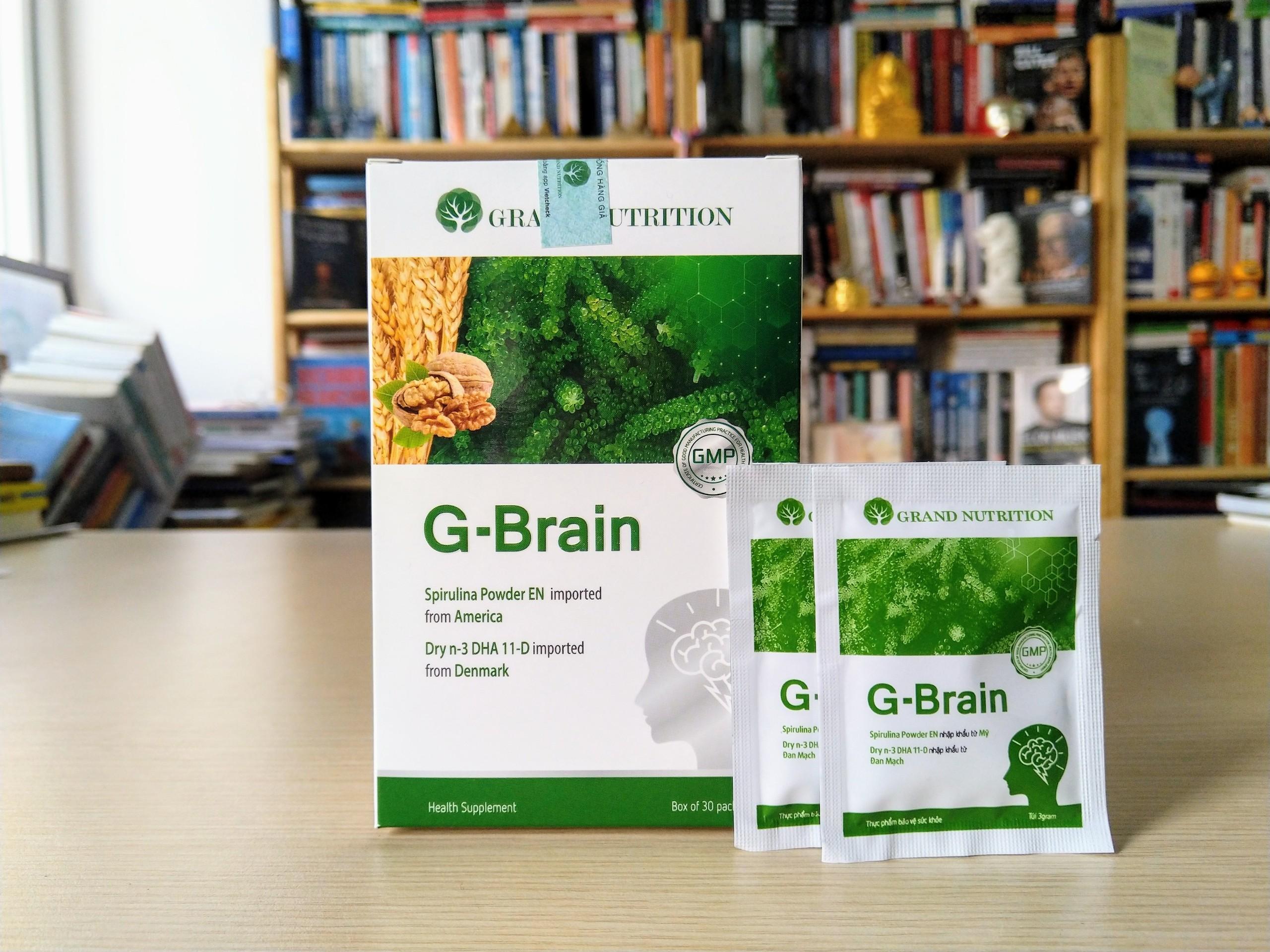 Cốm Trí Não G-Brain có tốt không? Giá Bao Nhiêu? Mua cốm G Brain ở đâu chính hãng?