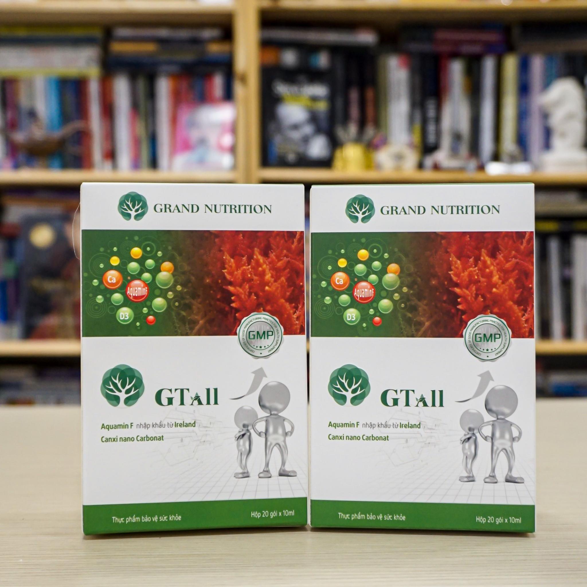 Sản phẩm nước tăng chiều cao GTall được giới chuyên gia đánh giá cao bởi hiệu quả tăng chiều cao tự nhiên ở trẻ