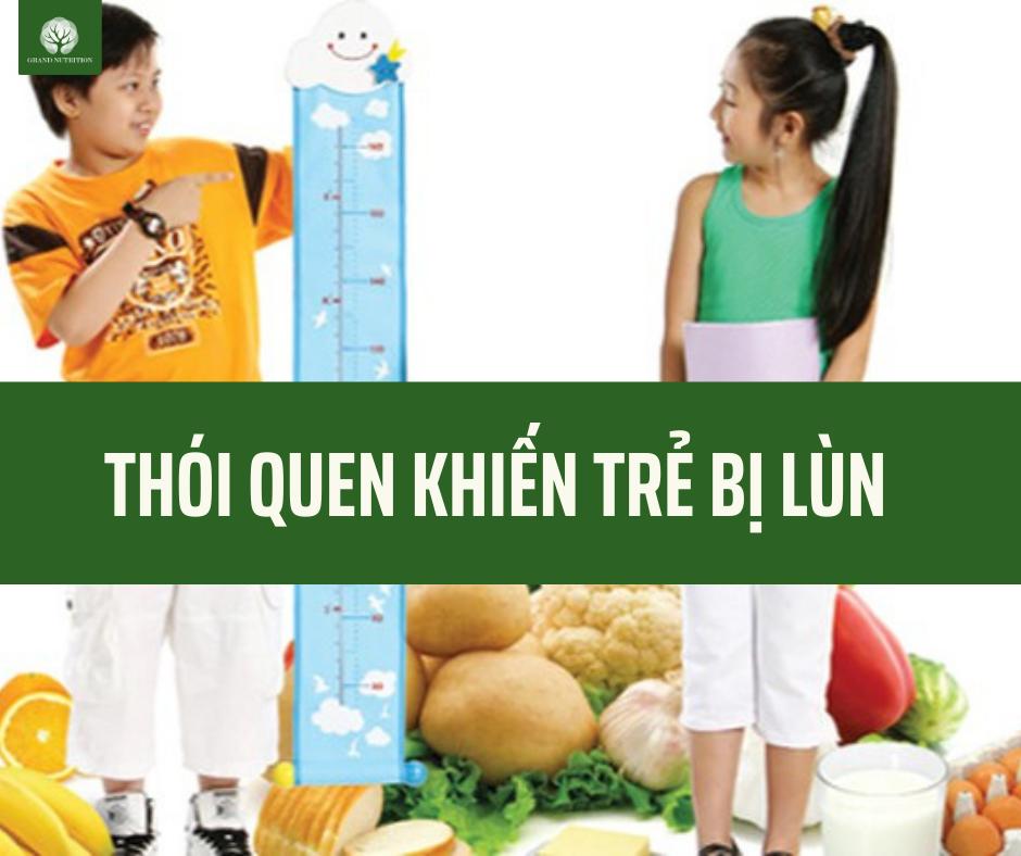 Những hành động ảnh hưởng đến sự tăng chiều cao khiến trẻ bị thấp lùn