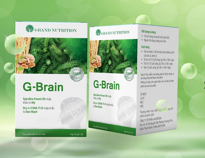 Công dụng của tảo xoắn Spirulina có trong Cốm tăng trí não G-Brain là gì?