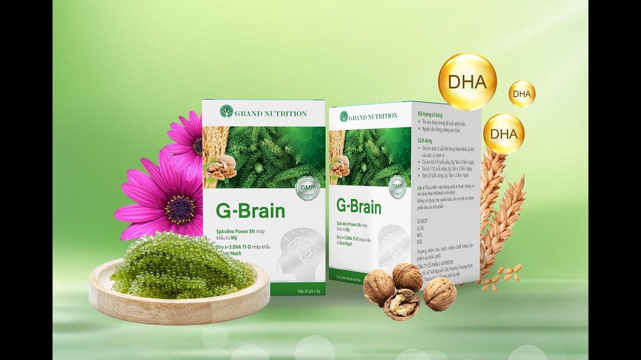 Nhận định của các chuyên gia về sản phẩm cốm trí não G-Brain