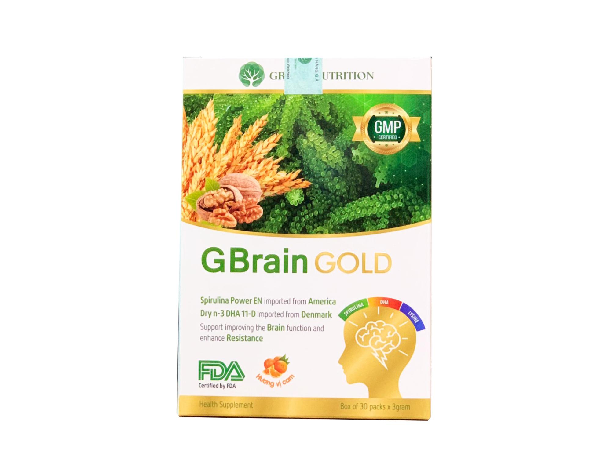 CỐM TRÍ NÃO G-BRAIN GOLD